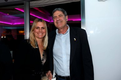 Me and Nati Hitron from Kenes Tayaroot company, in the launching event of the renewed Alexander Hotel this month