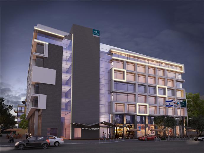 ac marriott herzeliya builiding rendering