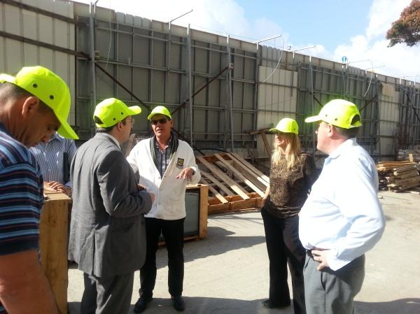 At AC Marriott Herzeliya building site