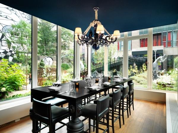 Bluespoon Restaurant in Andaz hotel Amsterdam